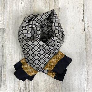 Echo Design geometric scarf